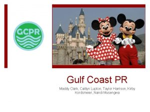 Gulf Coast PR Maddy Clark Caitlyn Lupton Taylor