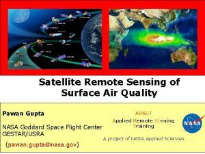 Satellite Remote Sensing of Surface Air Quality Pawan
