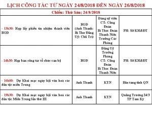 LCH CNG TC T NGY 2482018 N NGY