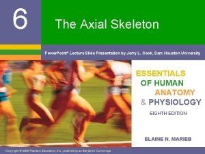6 The Axial Skeleton Power Point Lecture Slide