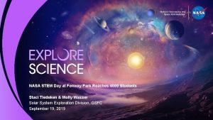 NASA STEM Day at Fenway Park Reaches 4000