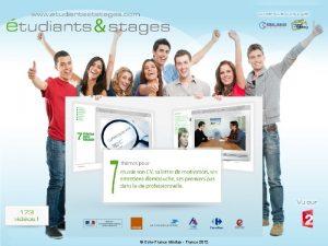 Etudiants et stages A Crindal EuroFrance Mdias EuroFrance