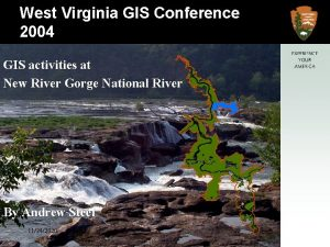 New River Gorge National River West Virginia GIS