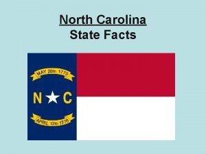 North Carolina State Facts State Bird The North