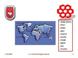 IASB IASC IFAC IFRIC SEC IOSCO AICPA FASB
