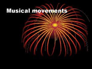 Musical movements Punk Rock Punk type of loud