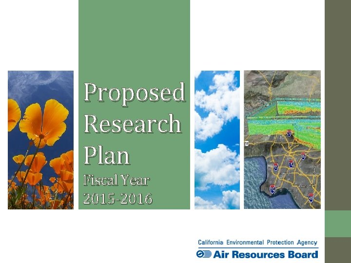 Proposed Research Plan Fiscal Year 2015 2016 Todays