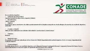 Beca acadmica deportiva Institucin que ofrece la beca