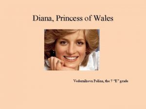 Diana Princess of Wales Vedernikova Polina the 7