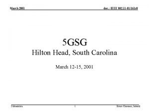 March 2001 doc IEEE 802 11 01161 r