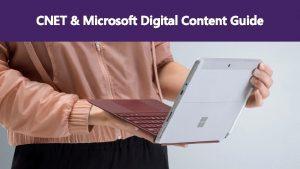 CNET Microsoft Digital Content Guide Retailer e Commerce