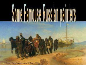 Repin Barge haulers on the Volga Aivazovsky Chernomorskiy