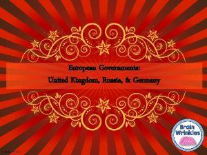 European Governments United Kingdom Russia Germany 2014 Brain