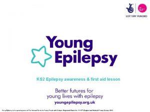 KS 2 Epilepsy awareness first aid lesson Epilepsy