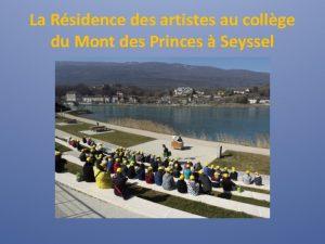 La Rsidence des artistes au collge du Mont