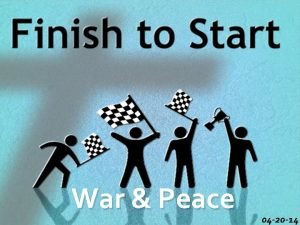 War Peace 04 20 14 I PEACE WITH