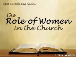 Significant Realities Men and women are different Men