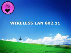 LOGO WIRELESS LAN 802 11 v 802 11