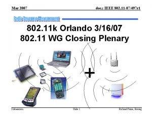 Mar 2007 doc IEEE 802 11 07497 r