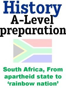 South Africa From apartheid state to rainbow nation