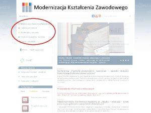 Modernizacja Ksztacenia Zawodowego Od 2008 roku w KOWEZi