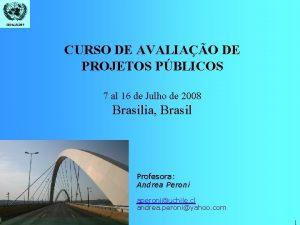 CEPALILPES CURSO DE AVALIAO DE PROJETOS PBLICOS 7