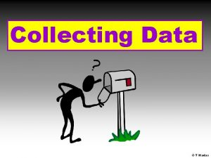 Collecting Data T Madas Hypothesis A hypothesis is