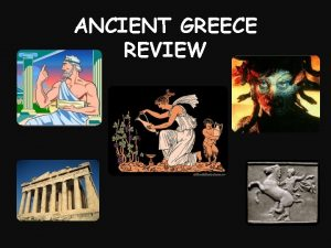 ANCIENT GREECE REVIEW What continent is Greece located