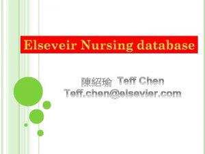 Mosbys Nursing Consult Mosbys Nursing Index Mosbys Nursing