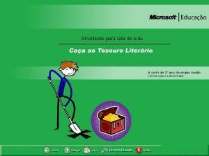 CAA AO TESOURO LITERRIO CAA AO TESOURO LITERRIO