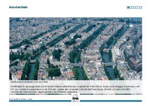 Amsterdam Veduta aerea di Amsterdam e dei suoi
