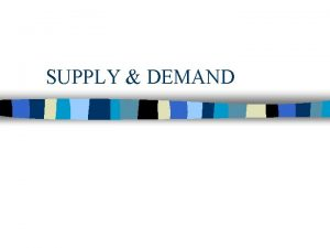 SUPPLY DEMAND Non Sequitur by Wiley Miller MARKETS