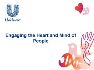 Engaging the Heart and Mind of People Engaging