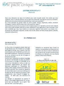 Pacte Civique Isre Vivre ensemble la Fraternit ml