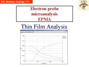Electron probe microanalysis EPMA Thin Film Analysis Whats