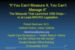 If You Cant Measure It You Cant Manage