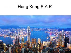 Hong Kong S A R Hong Kong SAR
