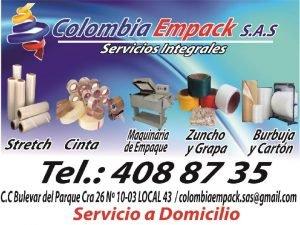 QUIENES SOMOS COLOMBIA EMPACK SAS es una empresa