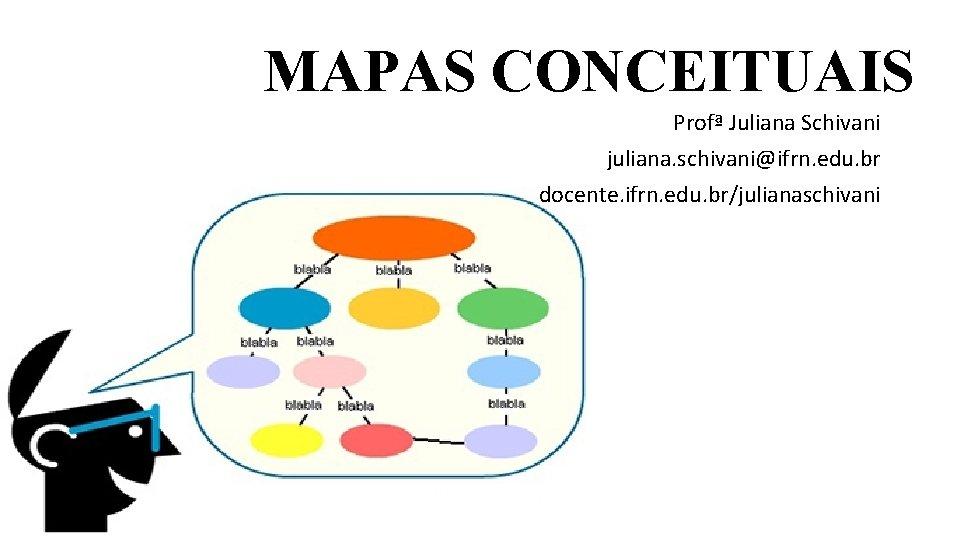 MAPAS CONCEITUAIS Prof Juliana Schivani juliana schivaniifrn edu