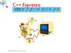 C Espresso 10 2010 All rights reserved include
