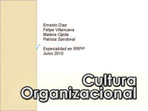 Ernesto Daz Felipe Villanueva Malena Ojeda Patricia Sandoval