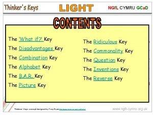 NGf L CYMRU GCa D The What if
