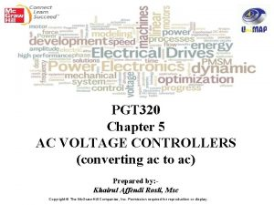 PGT 320 Chapter 5 AC VOLTAGE CONTROLLERS converting