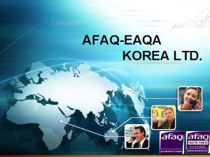 AFAQEAQA KOREA LTD CONTENTS v AFAQEAQA KOREA v