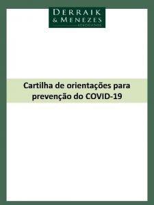 Cartilha de orientaes para preveno do COVID19 Covid