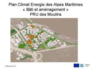 Plan Climat Energie des Alpes Maritimes Bti et
