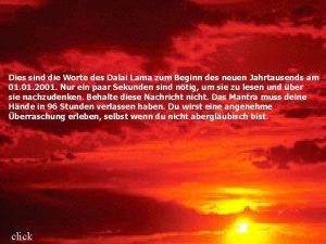 Dies sind die Worte des Dalai Lama zum