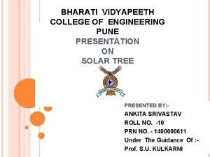 BHARATI VIDYAPEETH COLLEGE OF ENGINEERING PUNE PRESENTATION ON
