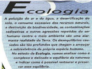 FUNDAMENTOS DA ECOLOGIA CONCEITOS BSICOS EM ECOLOGIA Designa