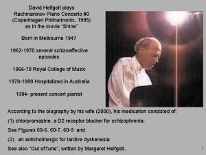 David Helfgott plays Rachmaninov Piano Concerto 3 Copenhagen